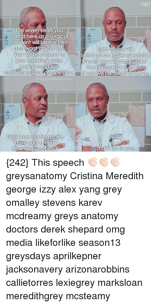 1x01 the Seven Years You Spend Here as a Surgical Resident Will Be ...