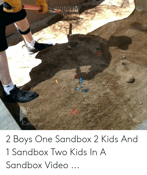 2 Boys One Sandbox 2 Kids And 1 Sandbox Two Kids In A Sandbox Video Kids Meme On Me Me