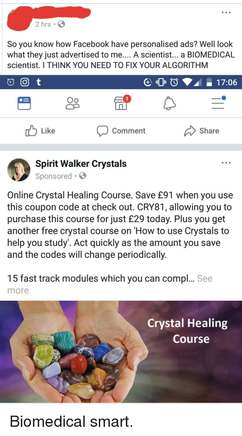 2 Hrs So You Know How Facebook Have Personalised Ads? Well