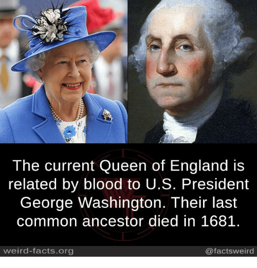 England Facts And Memes 2 The Current Queen Of Is Related By