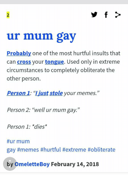 most hurtful insults