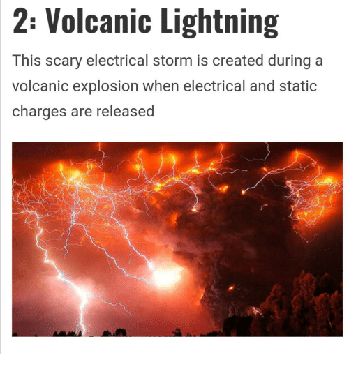 2 Volcanic Lightning This Scary Electrical Storm Is Created