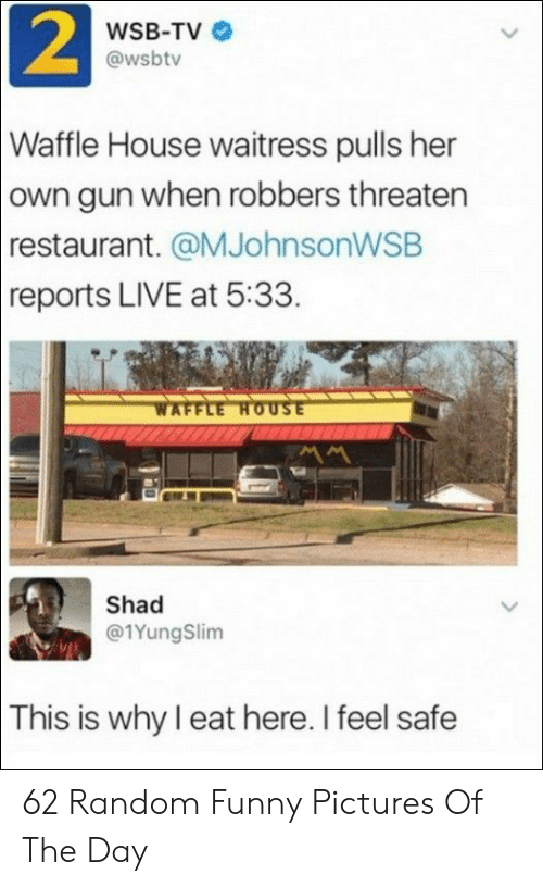 2 WSB-TV Waffle House Waitress Pulls Her Own Gun When Robbers