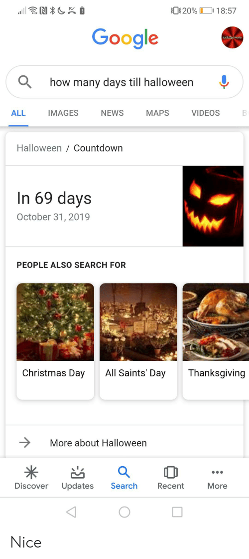 Halloween Thanksgiving Christmas Countdown.20 1857 Google How Many Days Till Halloween All Images News
