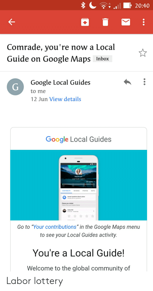 2040 Comrade You're Now a Local Guide on Google Maps Inbox