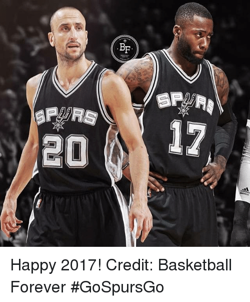 Basketball, Memes, and 🤖: 20 BF Happy 2017! Credit: Basketball Forever