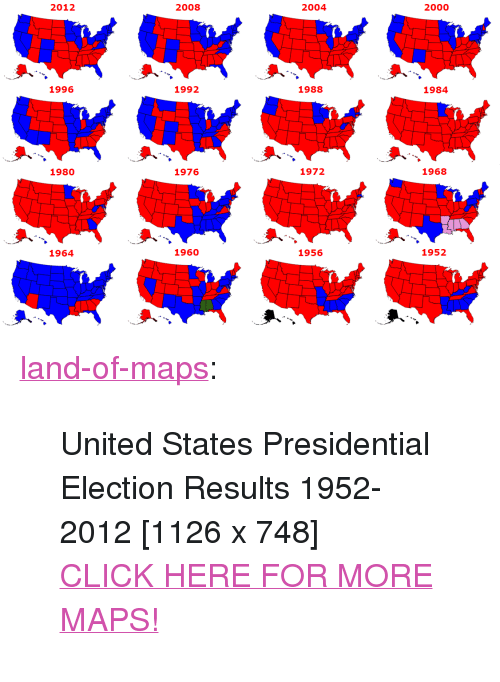 Presidential Election Map on