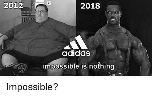 2012 2018 Adidas Impossible Is Nothing  e24013344
