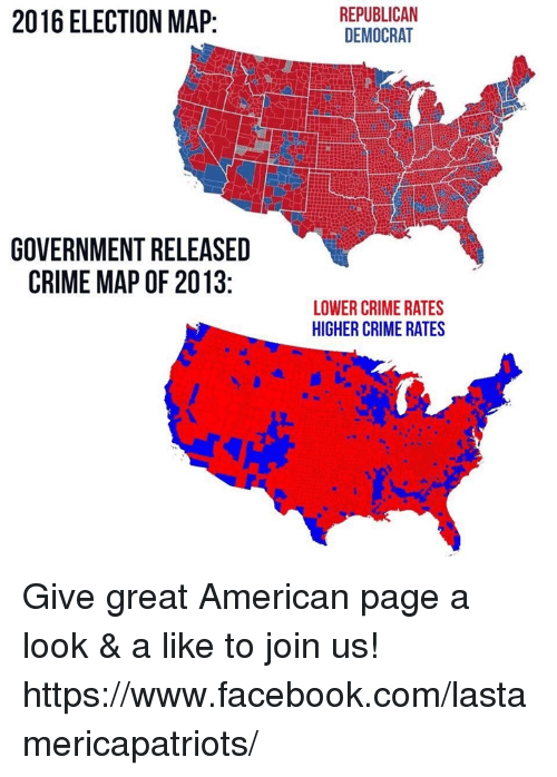 ELECTION MAP GOVERNMENT RELEASED CRIME MAP OF REPUBLICAN - Map of us government