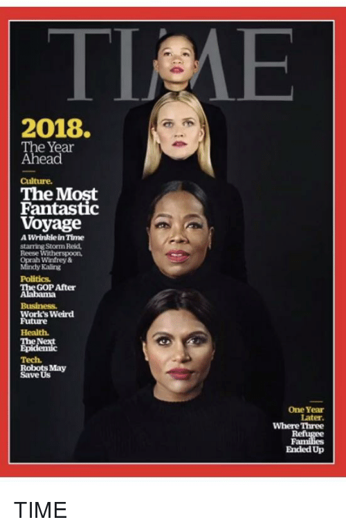 Oprah Winfrey Politics And Weird 2018 The Year Ahead Culture Most