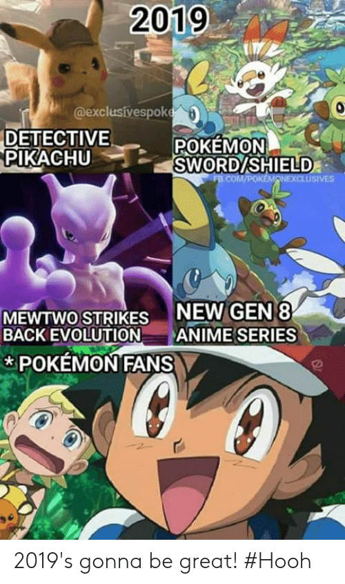 caa7e175 Anime, Memes, and Mewtwo: 2019 @exclusivespok DETECTIVE POKEMON PIKACHU  SWORDSHIELD NEW GEN8