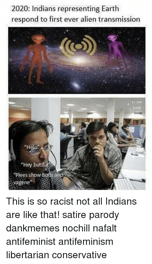 2020 Indians Representing Earth Respond To First Ever Alien