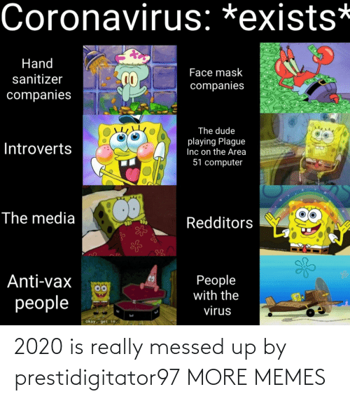 Dank, Memes, and Target: 2020 is really messed up by prestidigitator97 MORE MEMES