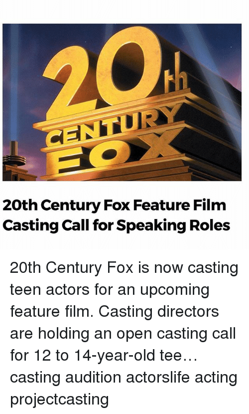 Memes Old And Acting 20th Century Fox Feature Film Casting Call For Speaking