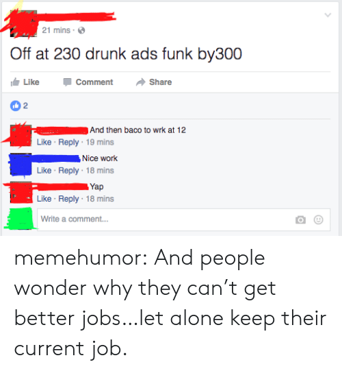 21 Mins Off at 230 Drunk Ads Funk By300 Like Comment →Share 2 and