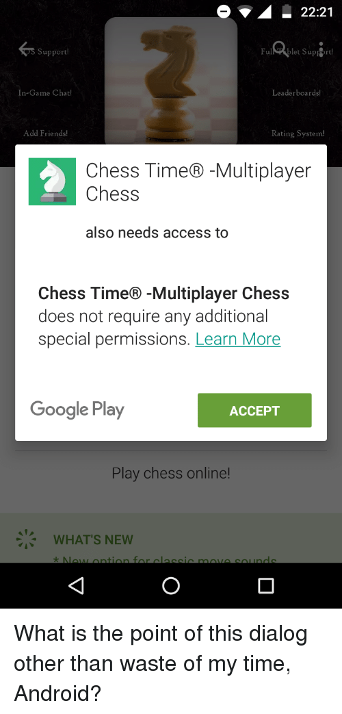 chess time android