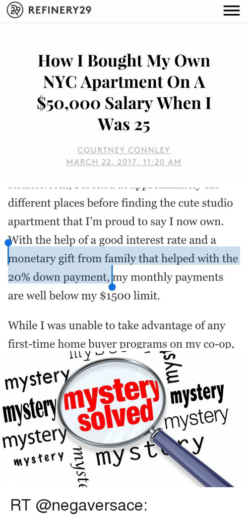 22 REFINERY29 How I Bought My Own NYC Apartment on a S50 Ooo