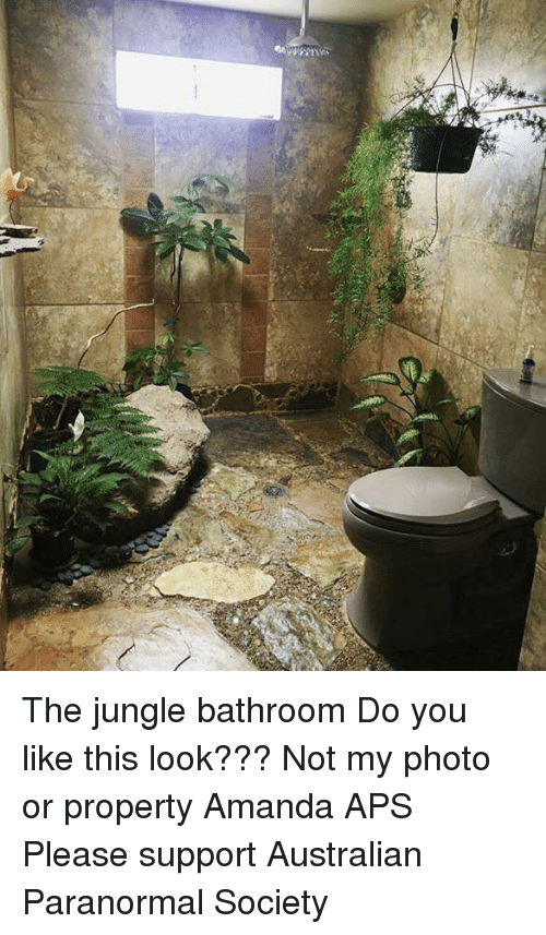 Memes, 🤖, And Photos: 22 The Jungle Bathroom Do You Like This Look
