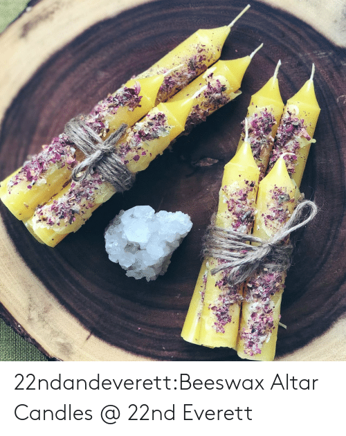 Tumblr, Blog, and Home: 22ndandeverett:Beeswax Altar Candles @ 22nd  Everett