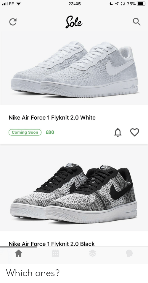 sports shoes 5c46c 31bc4 Nike, Soon..., and Air Force  23 45 e,. Which ones