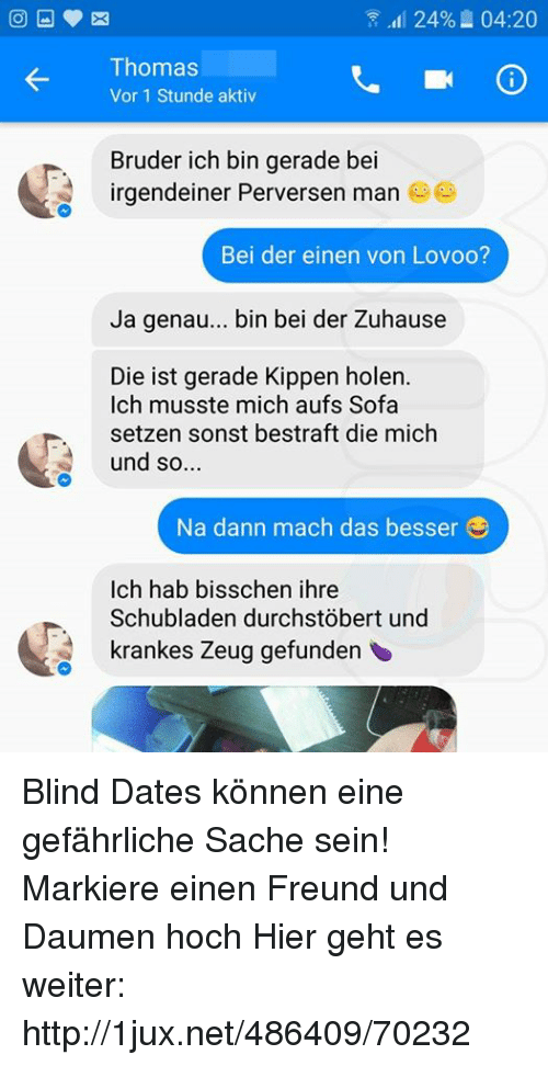 Dating-Freund Bruder