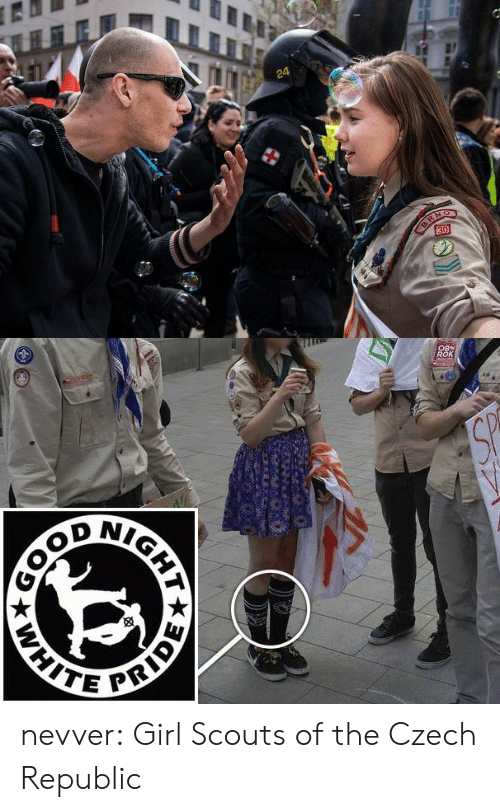 Facebook, Girl Scouts, and Tumblr: 24   NIG  PRI nevver:  Girl Scouts of the Czech Republic