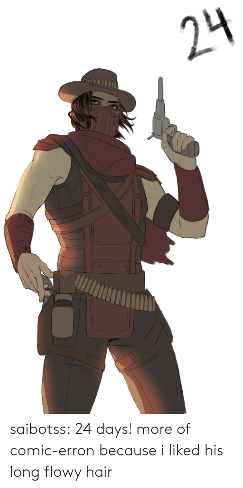 Tumblr, Blog, and Hair: 24 saibotss:  24 days! more of comic-erron because i liked his long flowy hair