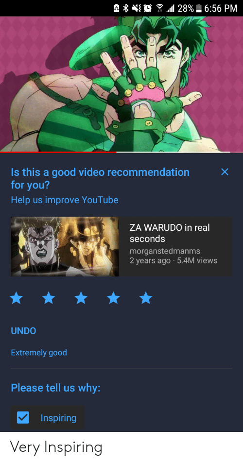 28%656 PM Is This a Good Video Recommendation for You? Help