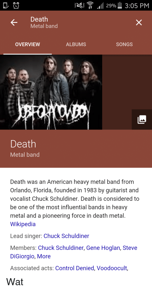 29 305 Pm Death Metal Band Overview Albums Songs Im Death Metal