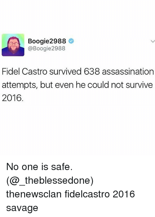 2988 O Boogie 2988 Fidel Castro Survived 638 Assassination