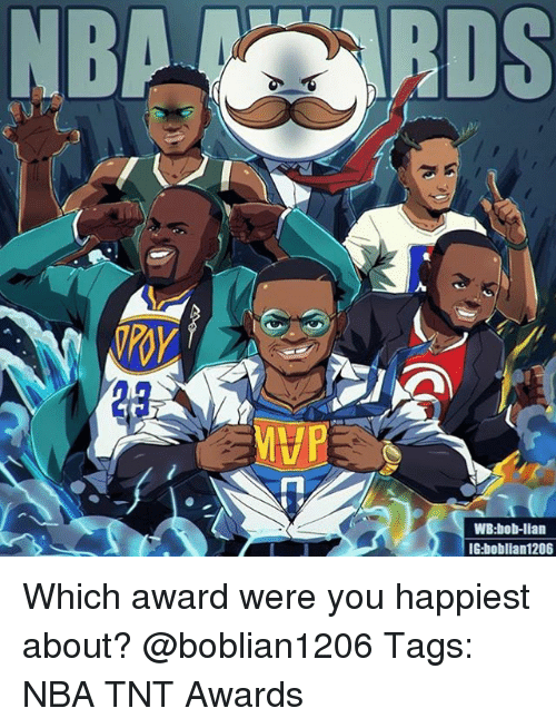 Memes, Nba, and 🤖: 2p  WB:bob-lian  IG:boblian1206 Which award were you happiest about? @boblian1206 Tags: NBA TNT Awards