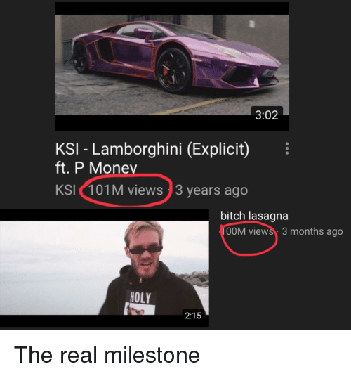 302 Ksi Lamborghini Explicit Ft P Money Ksi 101m Views 3 Years Ago