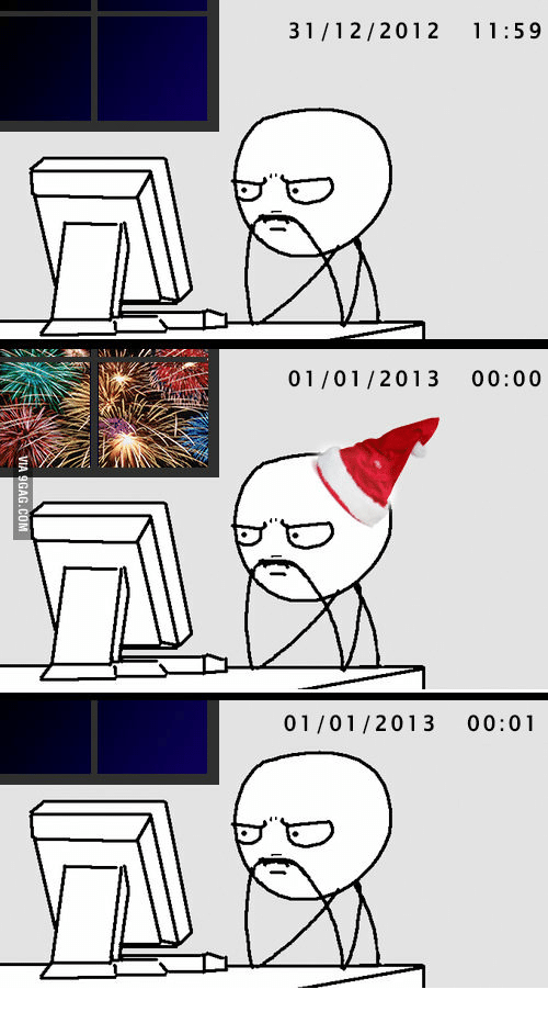 ✅ 25+ Best Memes About New Year Funny Videos   New Year Funny ...