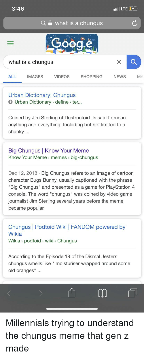 346 a What Is a Chungus Gooae What Is a Chunqus ALL IMAGES