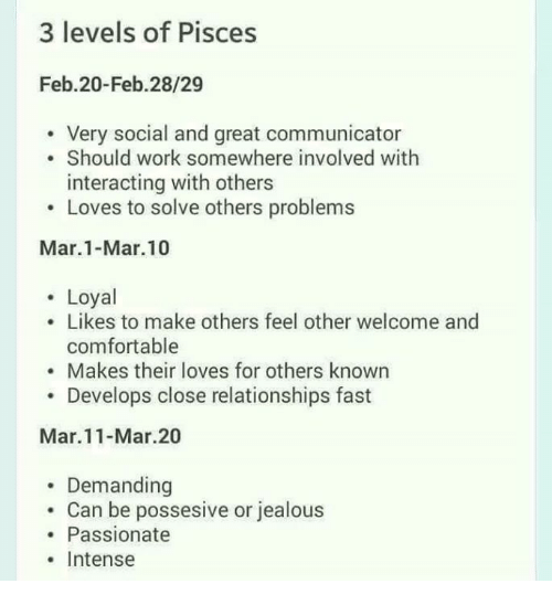 3 Levels Of Pisces