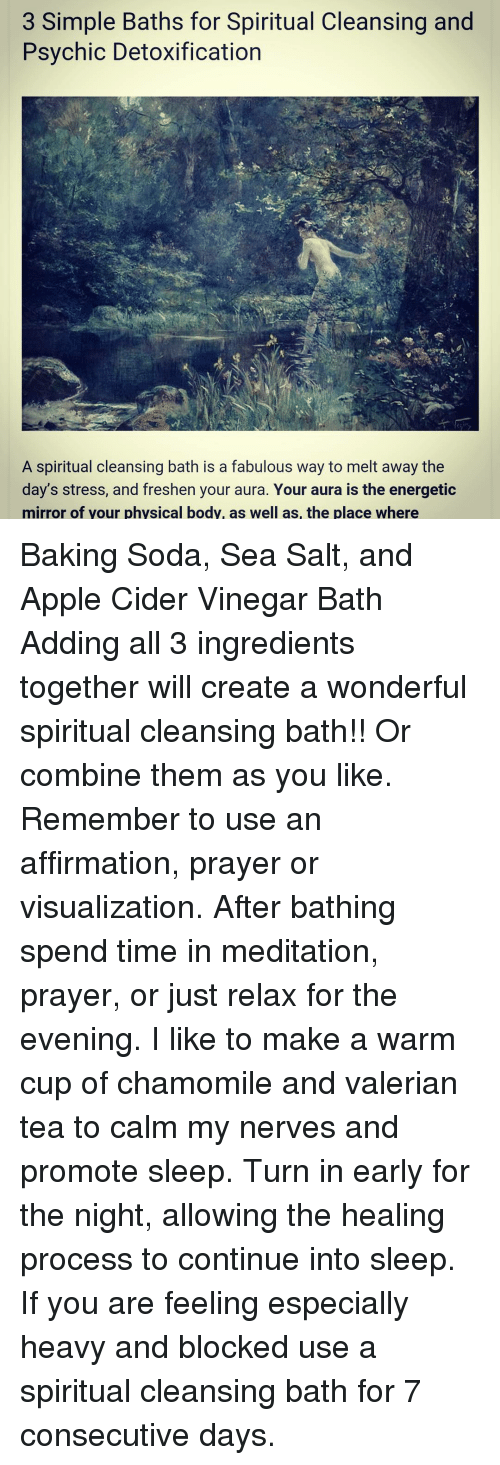 3 Simple Baths for Spiritual Cleansing and Psychic Detoxification a