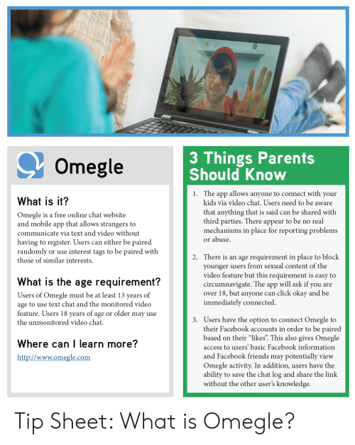 Omegle video chatting app