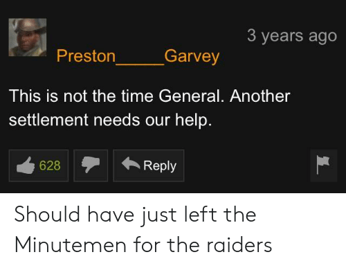 2c147c0964 Help, Raiders, and Time: 3 years ago Preston Garvey This is not the