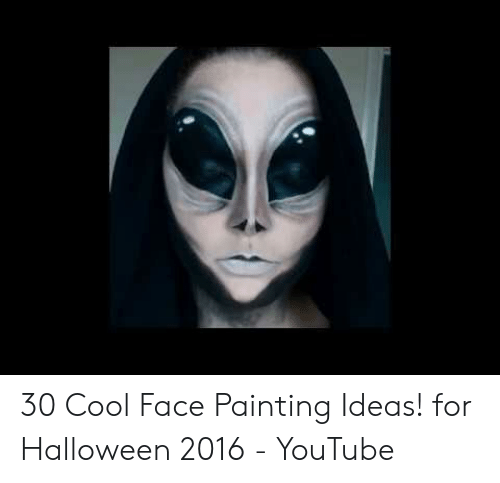 30 Cool Face Painting Ideas! For Halloween 2016   YouTube ...