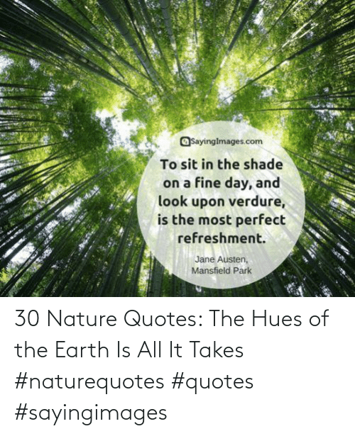Earth, Nature, and Quotes: 30 Nature Quotes: The Hues of the Earth Is All It Takes #naturequotes #quotes #sayingimages
