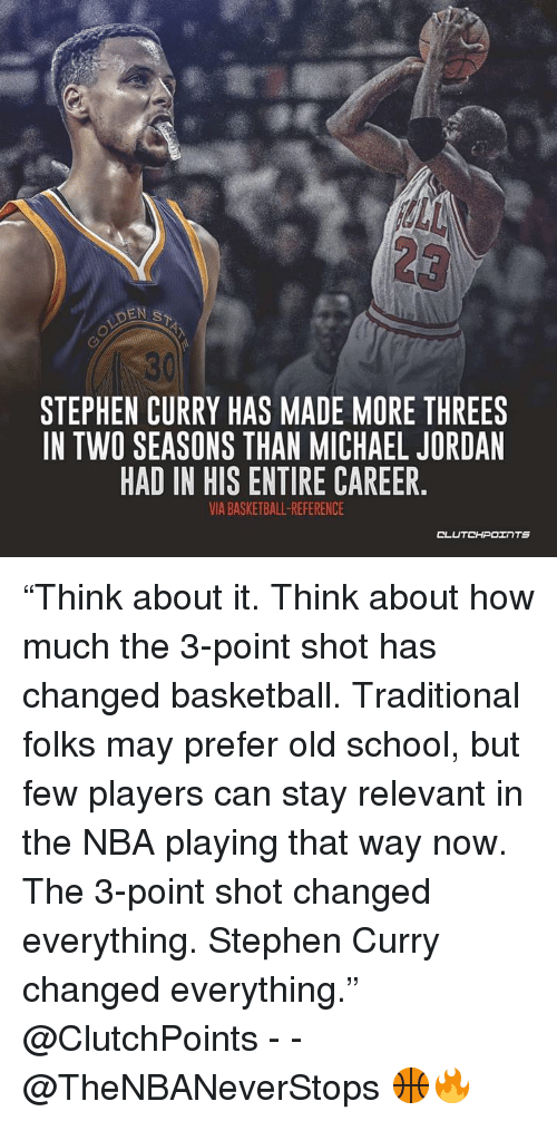 9efd8311a7ccb2 30 STEPHEN CURRY HAS MADE MORE THREES IN TWO SEASONS THAN MICHAEL ...