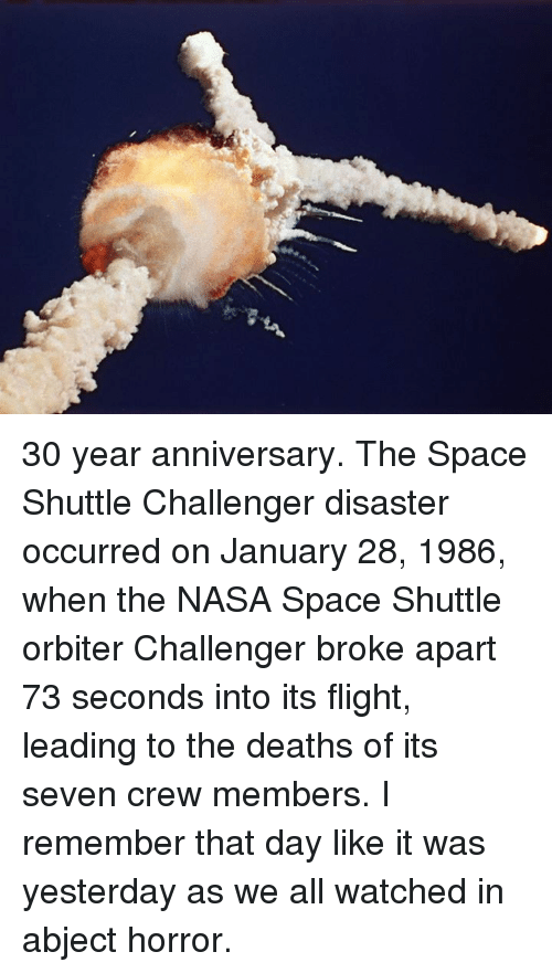 what year did space shuttle challenger explode - photo #20