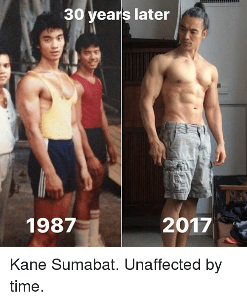 Time, Kane, and Times: 30 years later  1987  2017 Kane Sumabat. Unaffected by time.