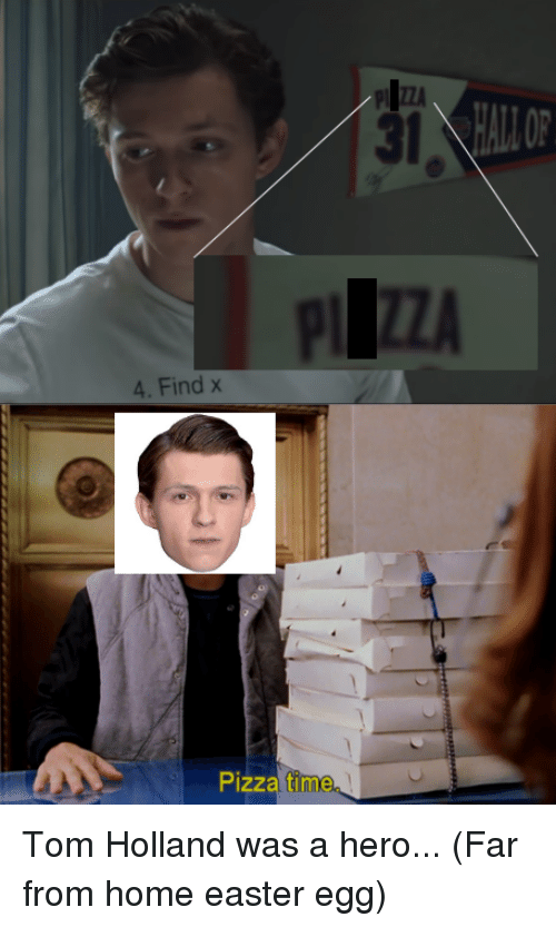 31 PIZZA 4 Find X Pizza Time   Easter Meme on ME.ME