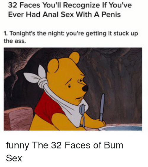 Anal sex funny