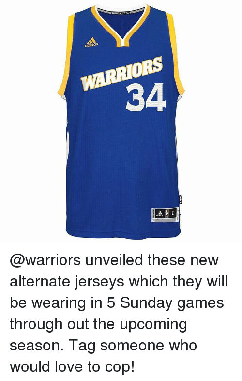 7dc7ce00fef3 34 Unveiled These New Alternate Jerseys Which They Will Be Wearing ...