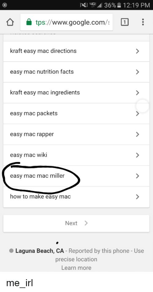 36 1219 Pm Www Googlecom Kraft Easy Mac Directions Easy Mac
