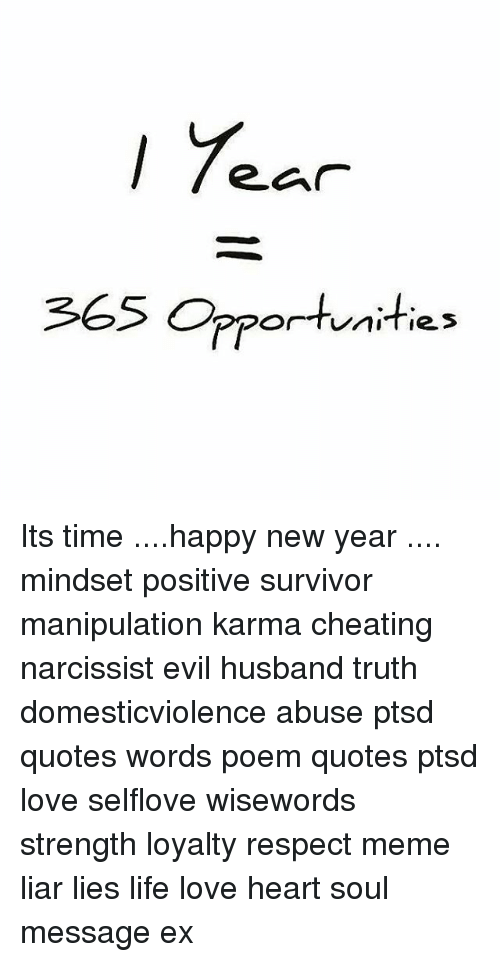 365 Opportunities Its Time Happy New Year Mindset Positive Survivor