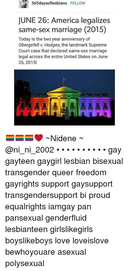 the land of the free looking into legalizing same sex marriages And vehemently opposed to giving legal rights to same sex partners the united states of america isn't the land of the free like same sex marriage.