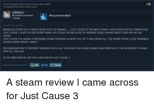 38 of 59 people 64 found this review helpful 15 people found this